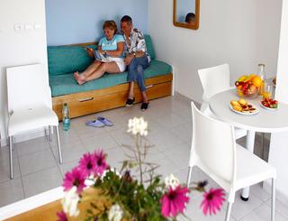 Résidence Primavera**, plage Richelieu au Cap d'Agde- Intérieur d'un logement Odalys Résidences