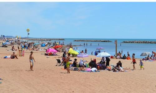 Les plages de valras plage valras plage - Office de tourisme de valras plage ...