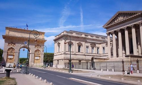 Arc de triomphe montpellier - Office du tourisme montpellier ...