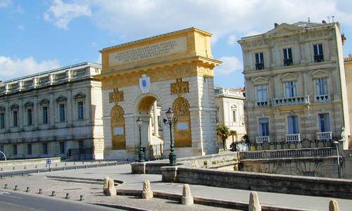 Arc de triomphe montpellier - Office de tourisme de montpellier ...