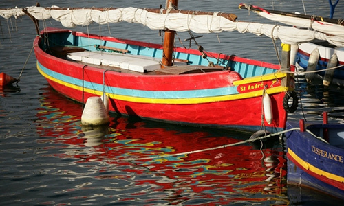 Le vieux port et la promenade j b marty sete - Promenade bateau marseille vieux port ...