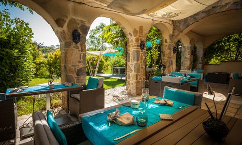restaurant le jardin aux sources brissac
