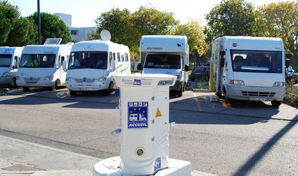 Montpellier Stationnement Camping Cars