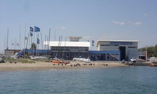 Centre nautique du Cap d'Agde_établissement 1 © M. BOURRIQUEL