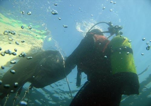 Cours de plongée herault