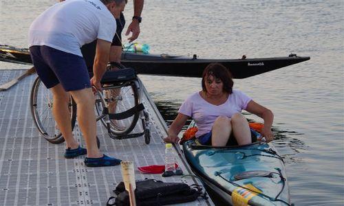 montpellier club handisport _kayak MR AZEMARD