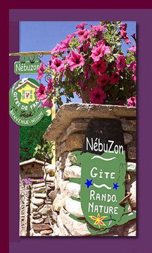Gîte Le Refuge de Nebuzon - Entrée fleurie Le Refuge de Nebuzon