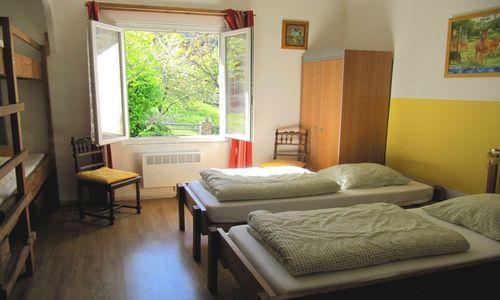Gîte Le Refuge de Nebuzon - Chambre Genêts 6 lits Le Refuge de Nebuzon