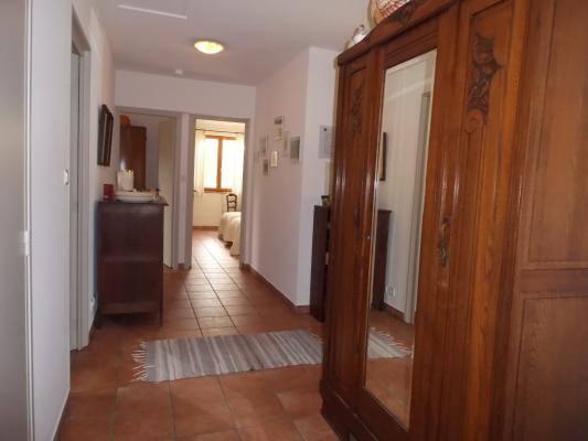 A l'étage, hall d'accès aux chambres Gîtes de France