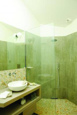 Salle d'eau CH Dolomie Gîtes de France
