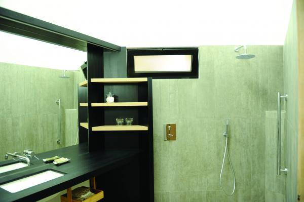 Salle d'eau CH Quartz Gîtes de France