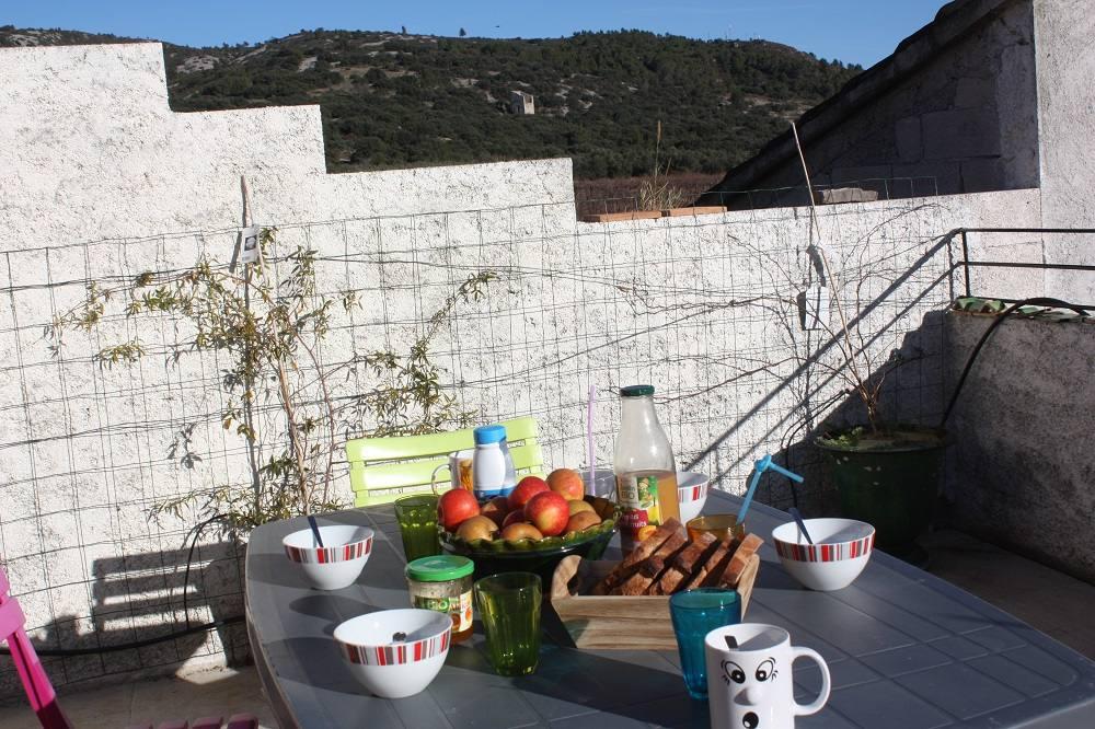Terrasse ensoleillée Gîtes de France