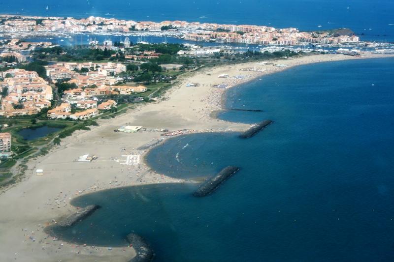 Hôtel Azur-La plage Richelieu au Cap d'Agde Hôtel Azur-Office de Tourisme Cap d'Agde Méditerranée