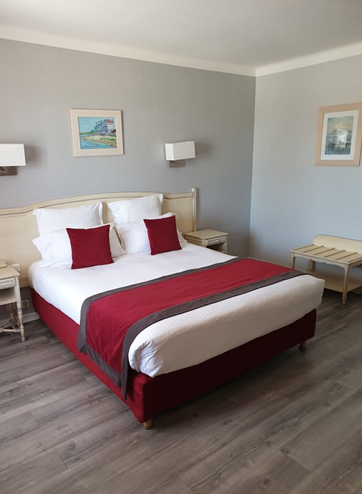 --Chambre-Double Motel La côte bleue