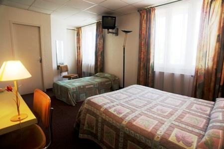 fabregues chambre 1 © logis Hérault - Bruno Garcia