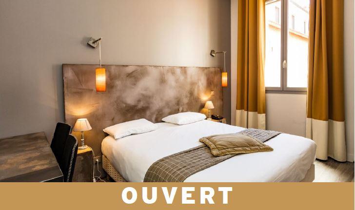 ouvert hotel de paris