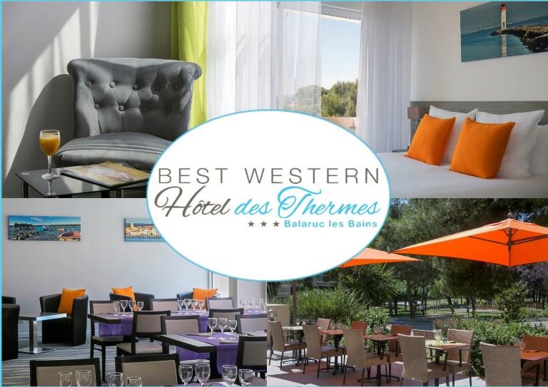 Hôtel des Thermes Best Western Balaruc les Bains Hôtel des Thermes Best Western