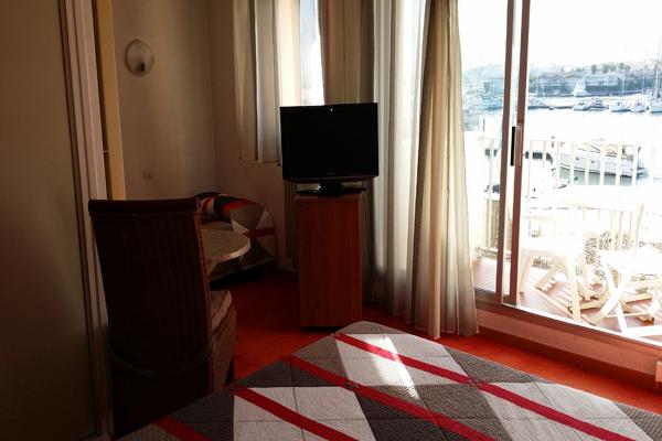 Hôtel la Voile d'Or - Le Cap d'Agde - Une chambre Hôtel la Voile d'Or