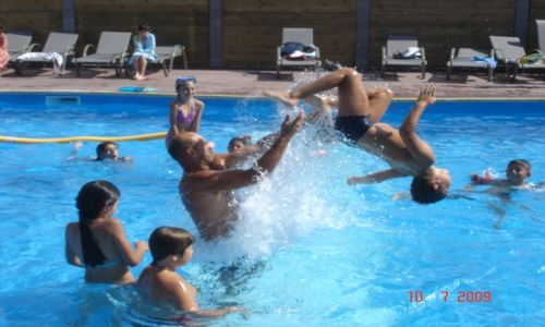 Camping Les Peupliers Colombiers Piscine Camping Les Peupliers Colombiers