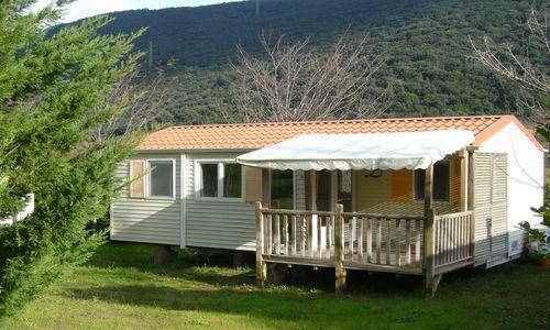 HPALAR0340000666 - Camping les Vals_vue_mobil_home_Pacific_premium © camping_les_vals