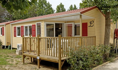 Camping Le Mas de la Plage 4 étoiles à Vias-Plage - Mobil-home Mas de la Plage
