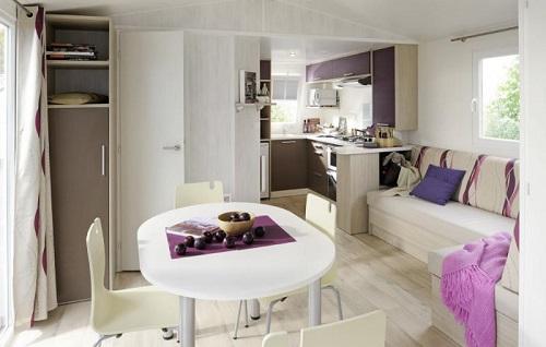 5 Salon Mobil home Premium PRL Domaine Sainte Véziane