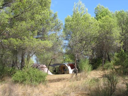 Camping Pélican à gignac © Domaine du Pélican