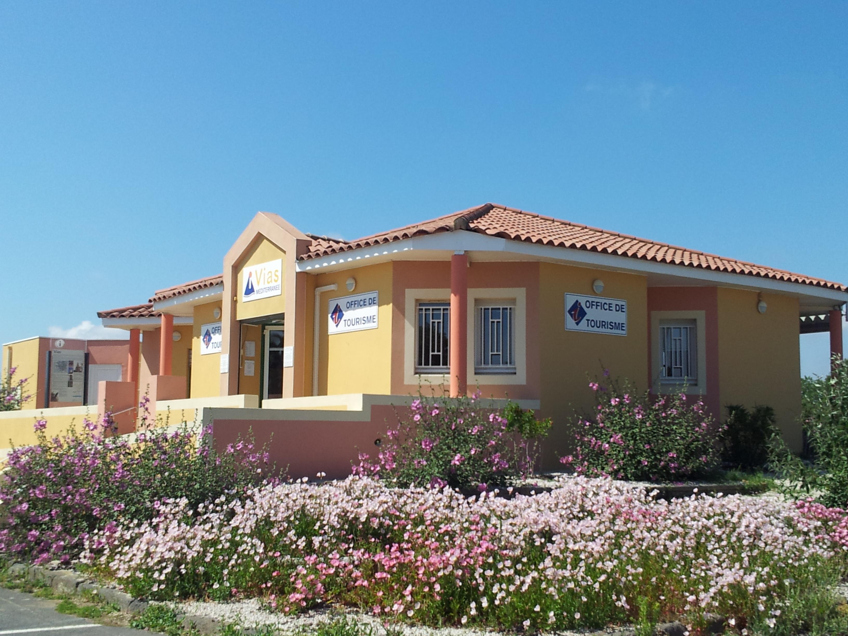 Office de tourisme cap d 39 agde mediterranee bit vias vias - Office du tourisme de vias ...