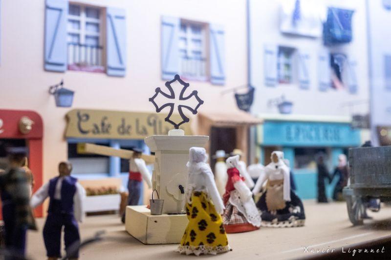 Musee_d_Olargues-diorama_X-ligonnet OT Minerois Caroux - X Ligonnet