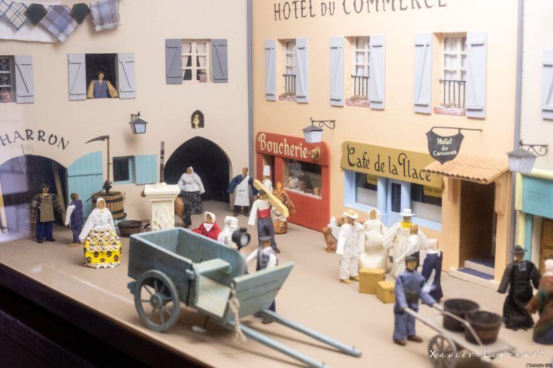 Musee_d_Olargues-diorama2_X-ligonnet OT Minerois Caroux - X Ligonnet