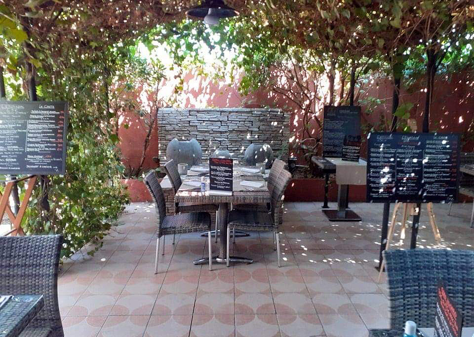 Table de Stéphane - terrasse